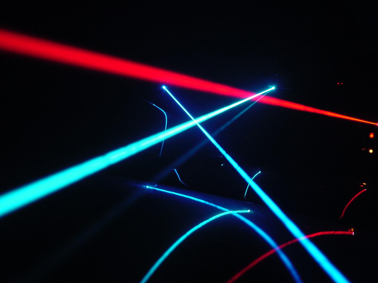 Leuk nieuws, schuren met echte lasers