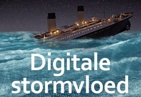 Digitale stormvloed: Beveiliging is wachten op de Titanic