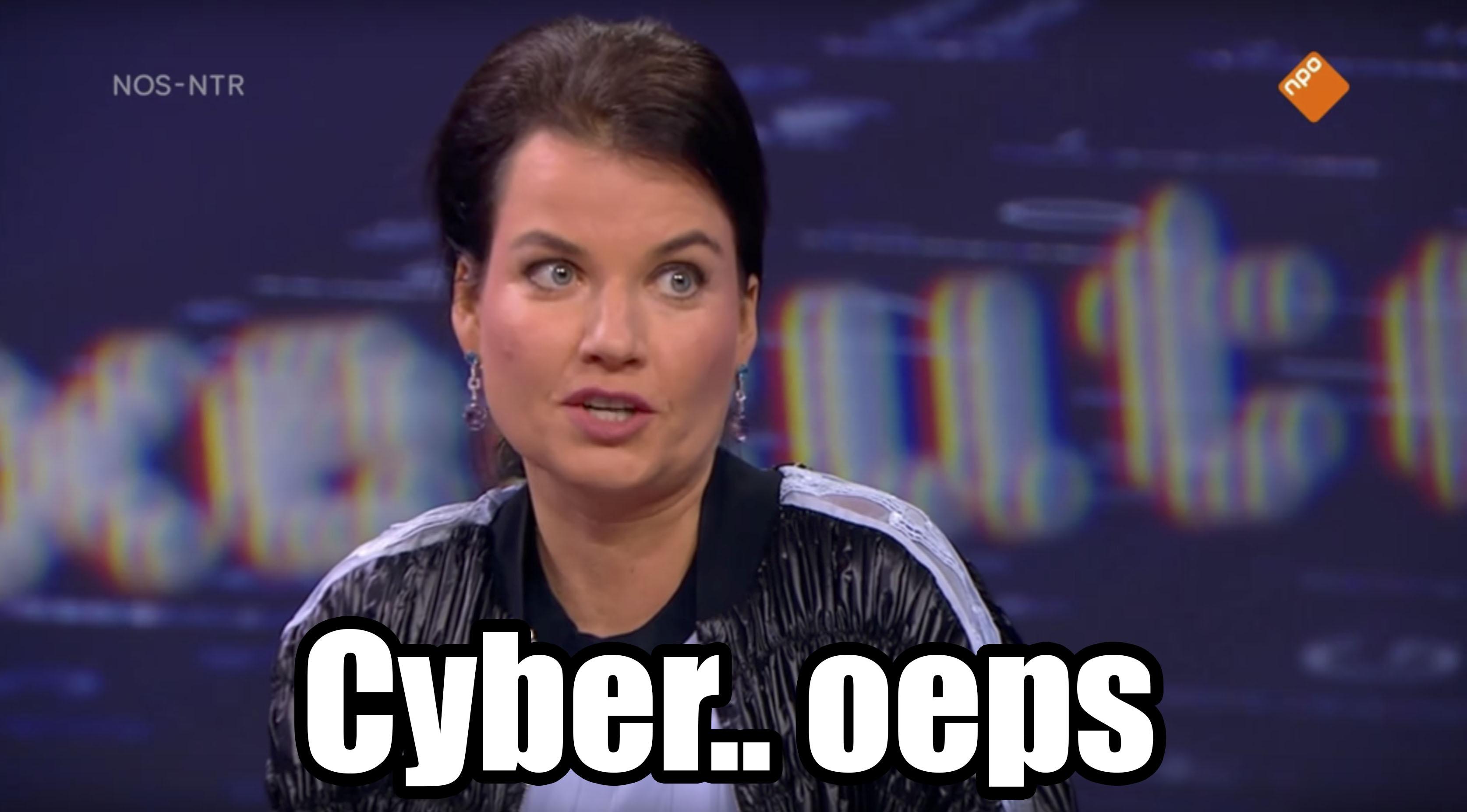 Het CYBER-verhaal van Rian van Rijbroek op Nieuwsuur, en waarom het niet klopt