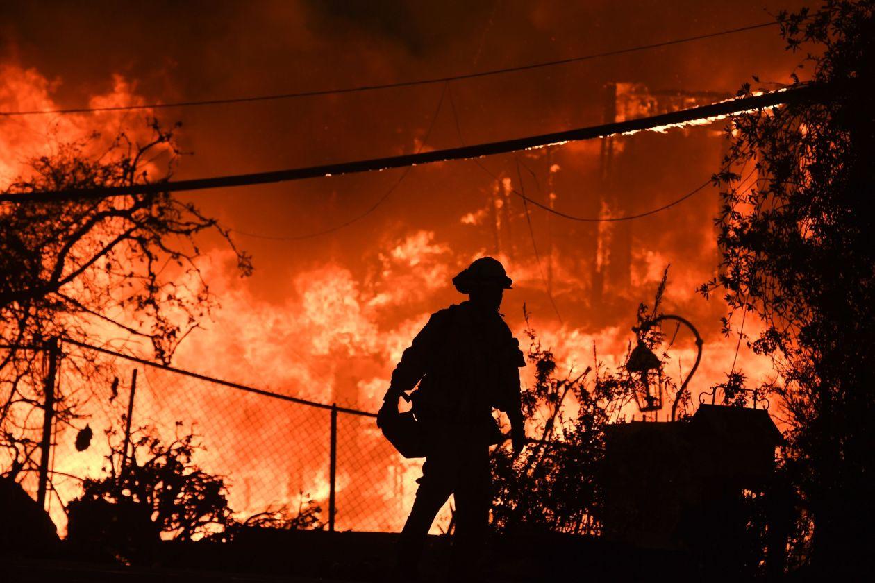 Milieubescherming en de branden in Californië
