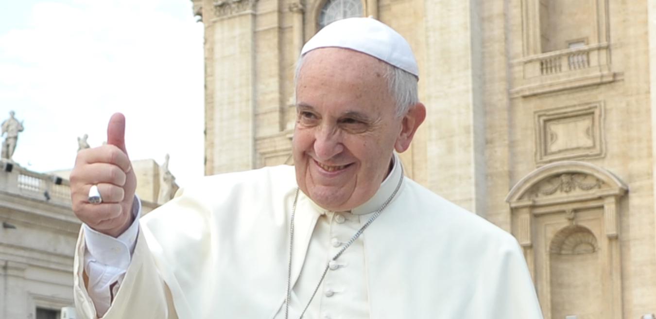 De schone schijn van paus Franciscus