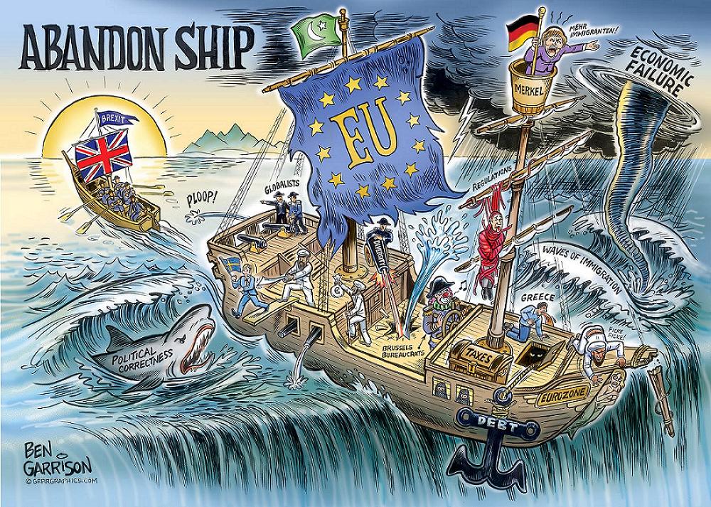 EU-elite maakt Britten razend