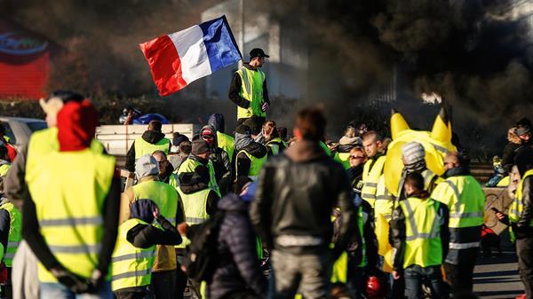 De Franse elites en de gele hesjes