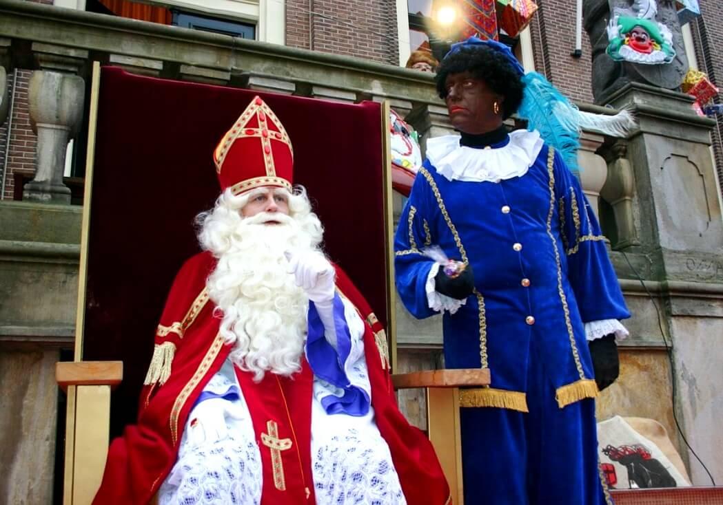 Een Sinterklaasintocht georganiseerd vanuit het volk